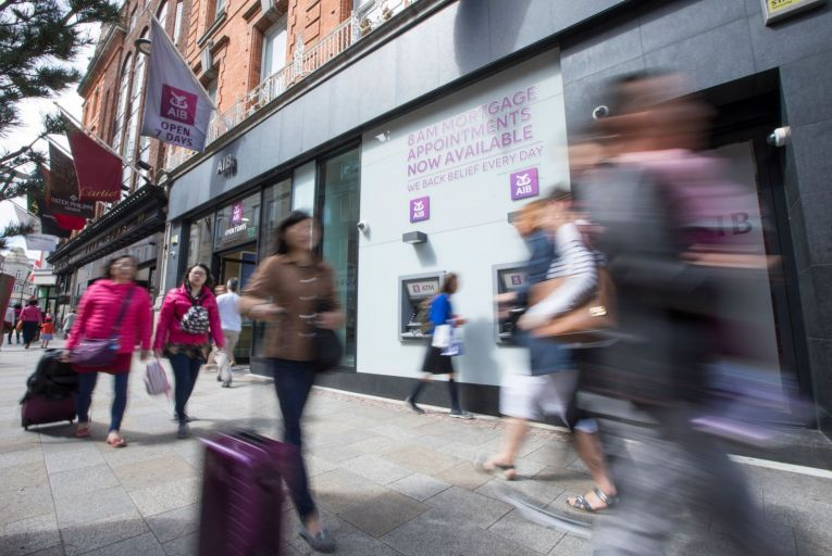 A very visible sign of the flux in the banking sector is the share prices of PTSB, AIB and Bank of Ireland: all three hit a one-year high last week. Picture: Fergal Phillips