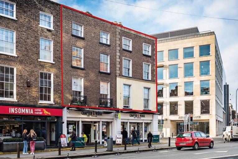 Upper floors of Leeson Street building on market for reduced price
