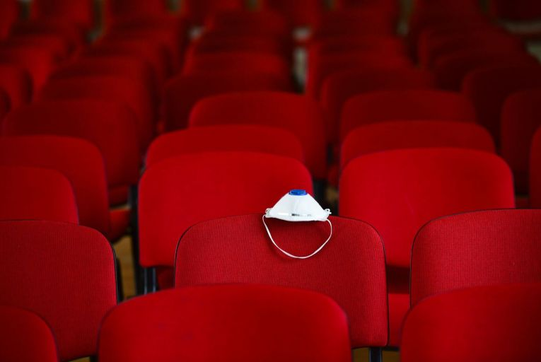 Global box office returns for this year are set to be 71.5 per cent down on 2019. Picture: Getty