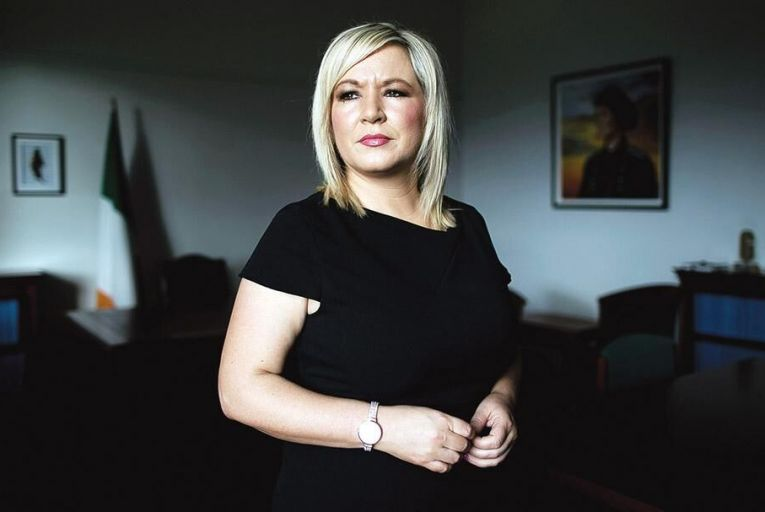Michelle O'Neill, Sinn Féin's vice president, is facing a challenge from former education minister John O'Dowd Pic: PA