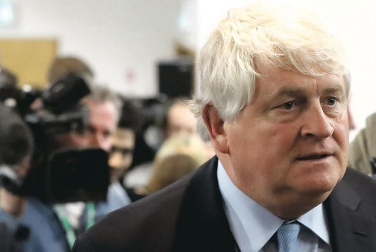 Denis O'Brien: his telecoms giant Digicel spent the year grappling with its giant €5.8 billion debt pile Pic: PA
