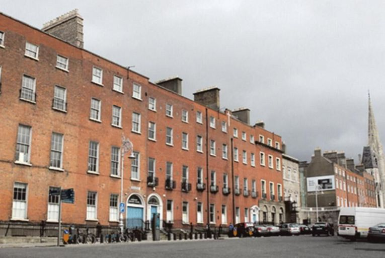 The site of the planned Cultural Quarter on Parnell Square