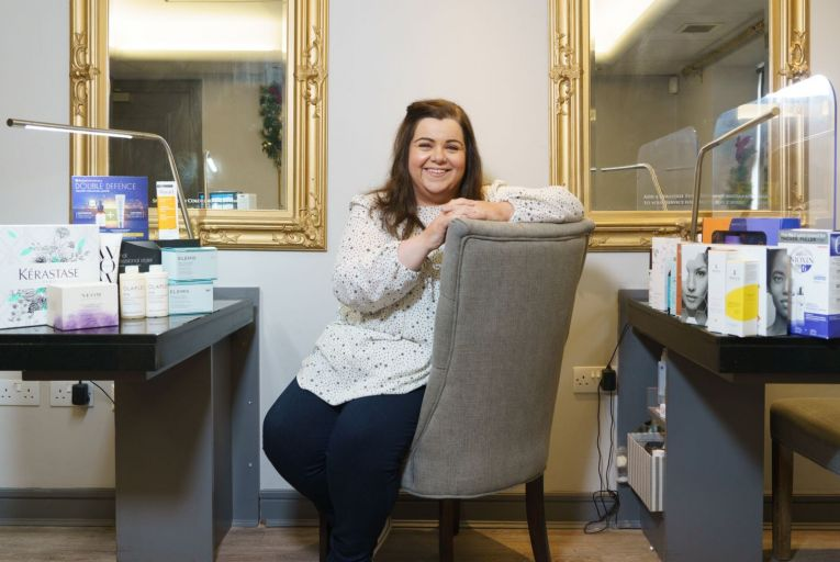 Joann Mahon, owner of Millies.ie, has an all-female, 35-member workforce in Co Kildare. Picture: Barry Cronin