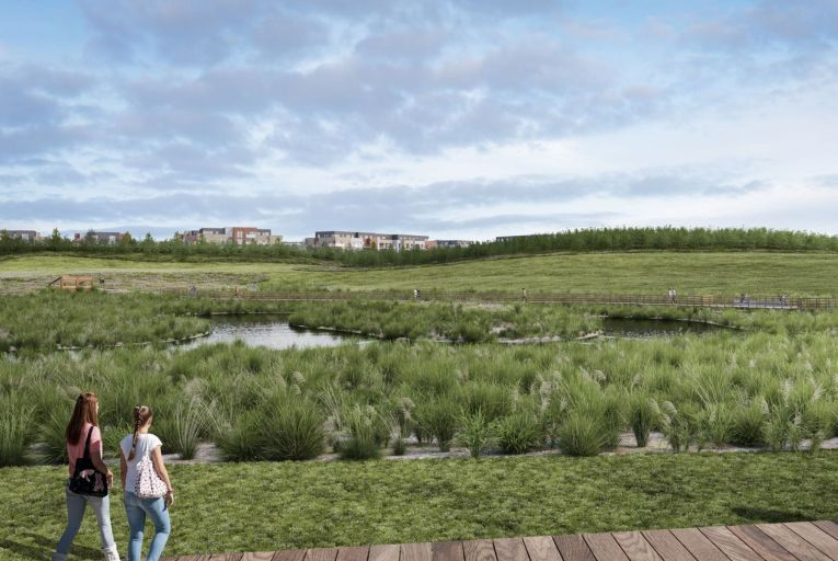 The application includes the development of a 32-acre nature park adjacent to the Malahide estuary, which will provide a wetland and meadow for wildlife