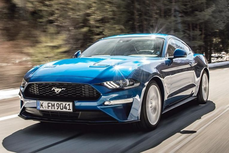 The Ford Mustang  EcoBoost Fastback: feels  much more engaging to  drive than the V8