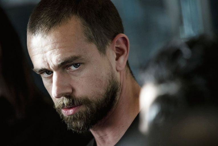 Jack Dorsey, the Twitter chief executive, is the founder of Square, the payments technology company. Picture: David Paul Morris/Bloomberg