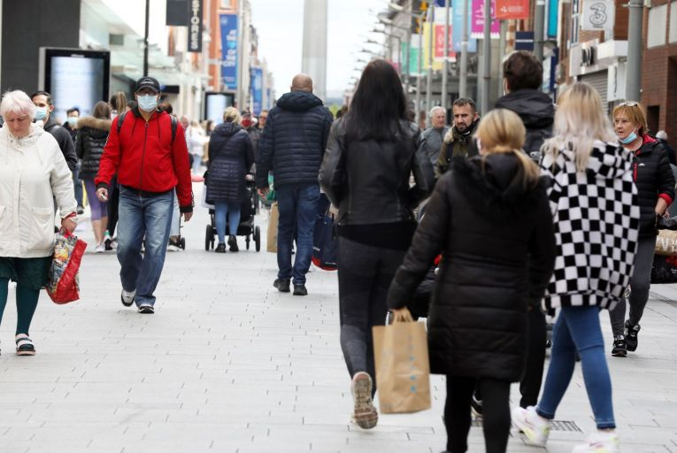Increased saving over the past year could influence consumer demand in the coming months, according to the Central Bank. Picture: Rollingnews.ie