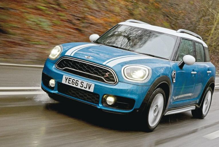 The new Mini Countryman is pretty much the only crossover that's actually fun to drive
