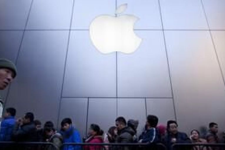 Apple struggles to catch Samsung in China