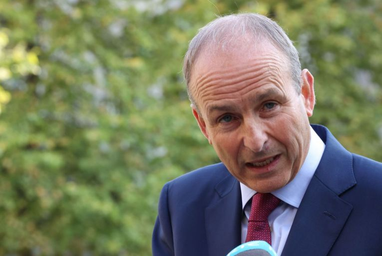 Micheál Martin will today present his response to what he has called a 'challenging' report into the party's position. Picture: Rollingnews.ie