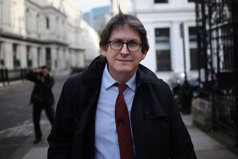Alan Rusbridger, former editor of the Guardian, has been backed by the Commission on the Future of Media to stay on as a member. Photo: Getty