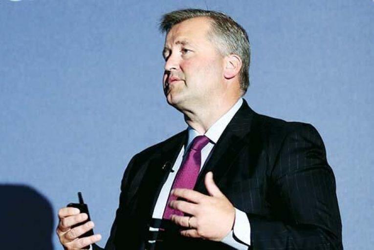 Albert Manifold, chief executive, CRH . Picture: Feargal Ward