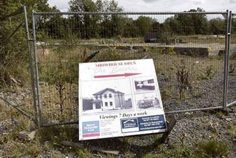 The Beeches in Roosky, Co. Leitrim was left vacant with the exception of a few houses built in 2011 Pic: RollingNews.ie