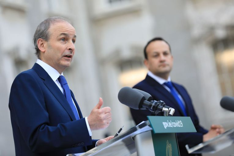 The results of the latest Business Post/Red C poll will slightly ease the pressure on Micheál Martin, the Taoiseach,  but Fianna Fáil, his party, is still trailing behind Fine Gael and Sinn Féin. Picture: Rollingnews.ie