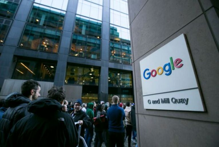 More than 8,000 people work for Google in Ireland, but a significant portion are hired as contractors through third parties. Picture: Sam Boal/RollingNews.ie