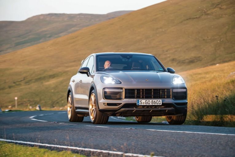 The Porsche Cayenne Turbo GT is based on the coupé body style, but is unlike any other model in the line-up. Picture: Barry Hayden