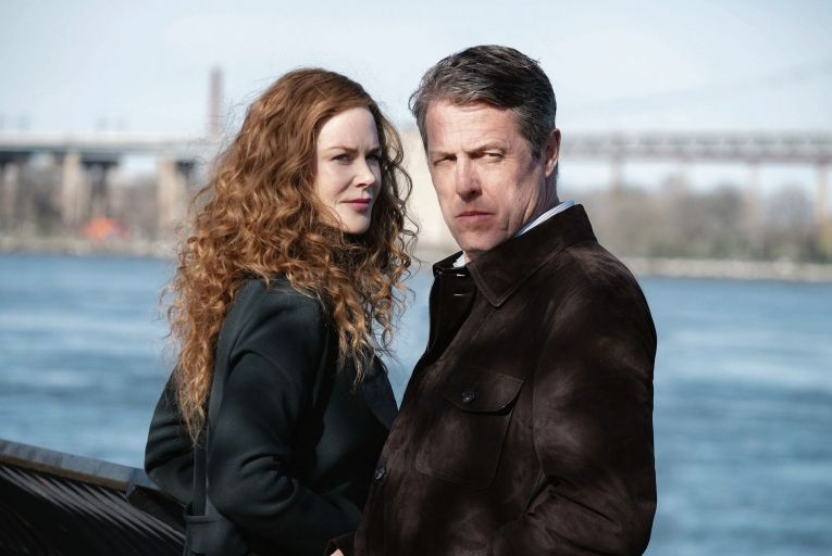 Nicole Kidman and Hugh Grant in The Undoing, a thoroughly modern tale of murder and infidelity