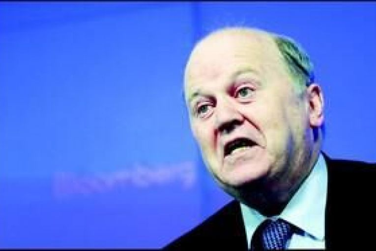 Minister for Finance Michael Noonan: Ireland should not be thought of as being anywhere in the same league as Greece. Photo: Bloomberg