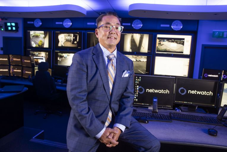 Kurt Takahashi, chief executive of Netwatch: 'Innovation and automation are still important, but at the end of the day you need a real person intervening.' Picture: Finbarr O'Rourke