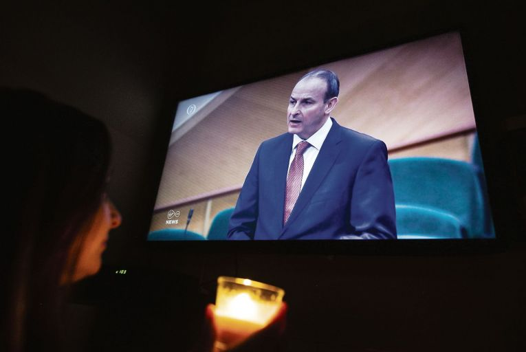 Taoiseach Micheál Martin  delivered a televised apology to the survivors of mother and baby homes last week Pic: Getty