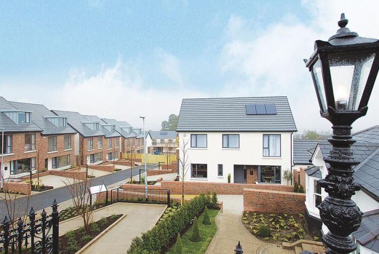 New homes at Mount Anville Road go on show