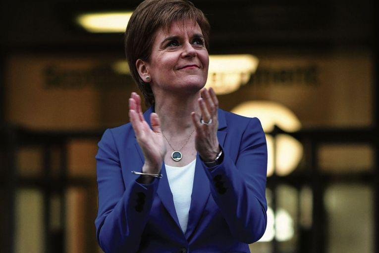 Scottish First Minister Nicola Sturgeon. Picture: Getty