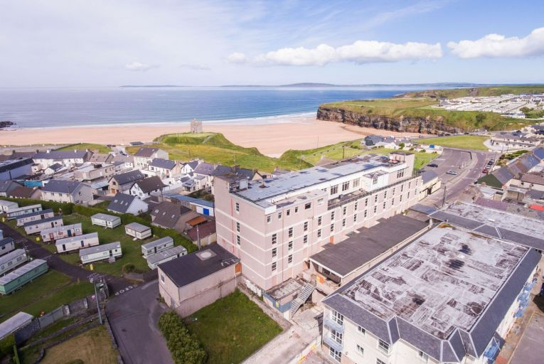 The former Golf Hotel, Ballybunion, Co Kerry, has had its price reduced by €200,000 to €650,000