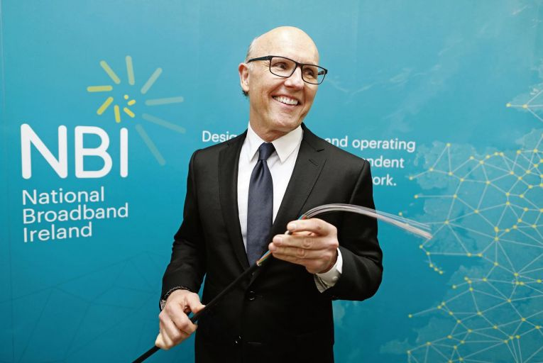 David McCourt, the US businessman who controls National Broadband Ireland, which aims to connect 540,00 premises across the nation. Picture: Julien Behal
