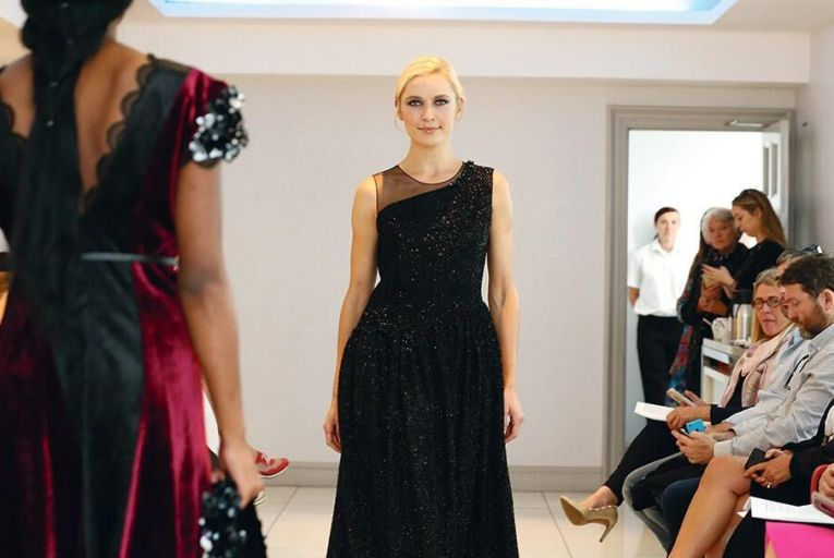 Sarah Murphy designs pictured at the recent CIFD fashion show
