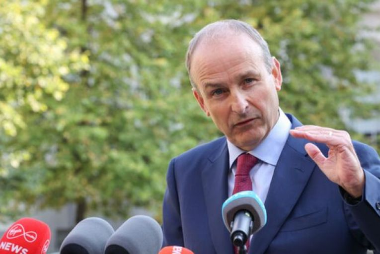 Taoiseach Micheál Martin: 'We have prevailed as a country.' Picture: Sam Boal/RollingNews.ie