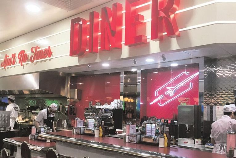 Fun food franchise Eddie Rockets is a family favourite