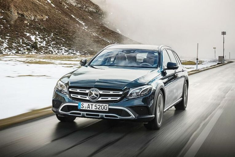Mercedes is taking a swing at the  well-heeled continental ski set  with the E-Class All-Terrain