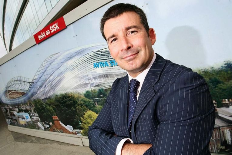 IRFU's director of commercial and marketing, Padraig Power,