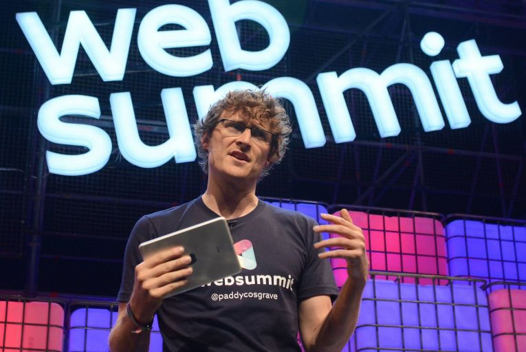 Paddy Cosgrave, the Web Summit founder, has been promoting a series of his online posts and Tweets containing his personal opinions on politics and media. Picture: Getty