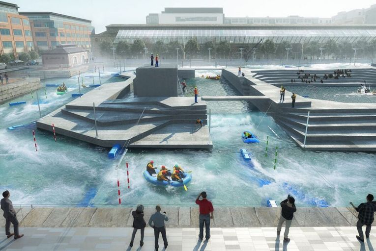 Docklands rafting wheeze fails to hold water