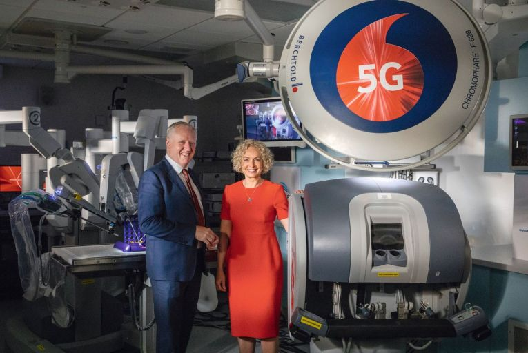 Vodafone partnership to use 5G to improve healthcare