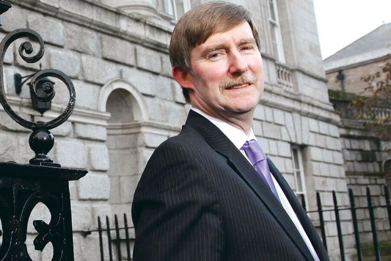 Ken Murphy, president of the Law Society: 'if award levels reduce, so should insurance premiums' Feargal Ward
