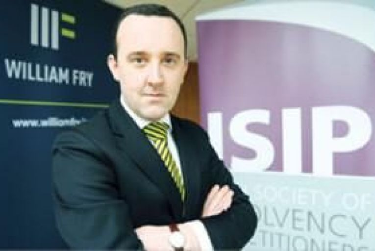 Barry Cahir, chairman of the Irish Society of Insolvency Practitioners (ISIP). Picture: Tony O\'Shea