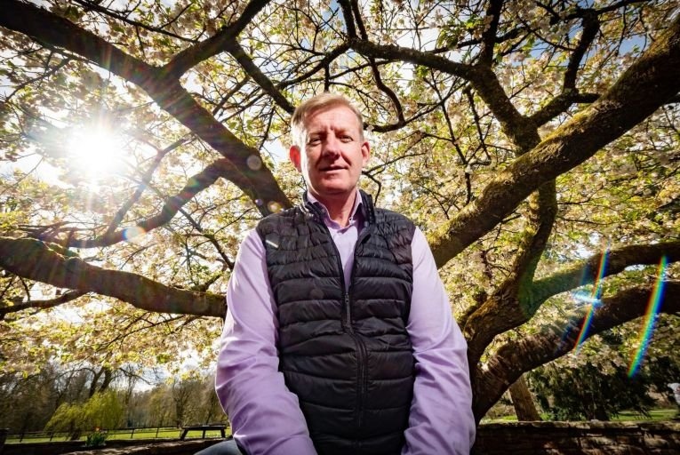 Enda Keane, chief executive of Treemetrics, says the company has already worked with about 800 private forest owners in Ireland. Picture: John Allen