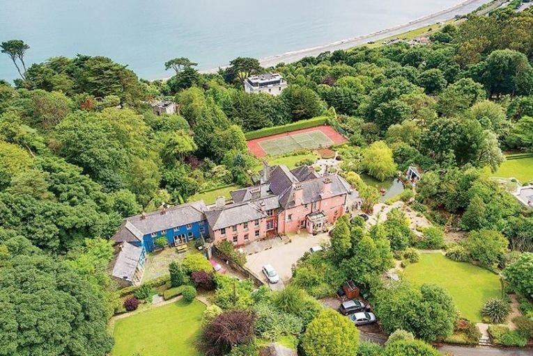 The gated mews was orginally part of  the estate of Illerton House in Dalkey,  and is on the market for 1.075m