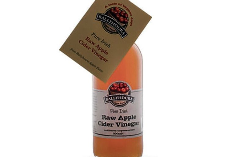 Ballyhoura's most popular product is its Pure Raw Irish Apple Cider Vinegar