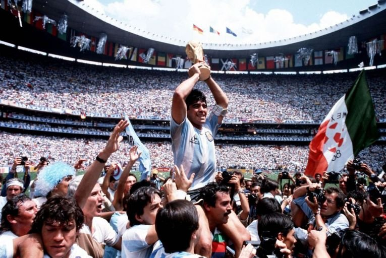 Ronan Early: When Maradona left his mark, it stayed with us for ever
