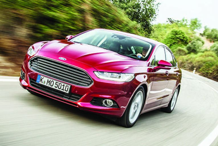 New Mondeo belatedly enters market