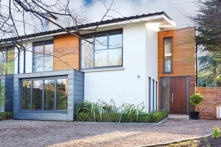 A handsome home tucked away in Killiney