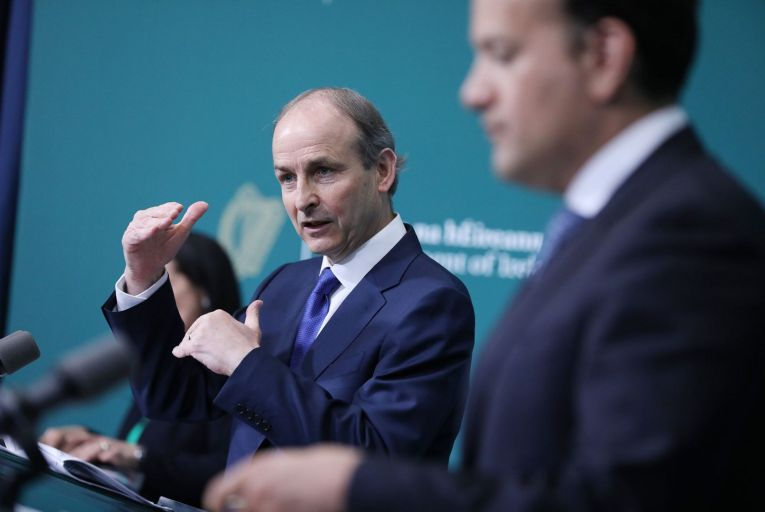 Micheál Martin's announcement on Thursday was partly due to a recognition that the strict lockdown had already lost the public's support some weeks ago