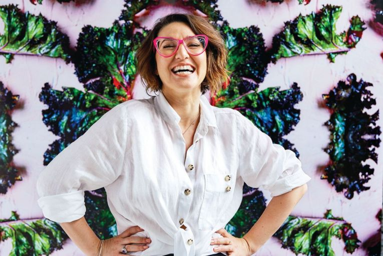 Alice Zaslavsky reached finals week on Masterchef Australia almost a decade ago and has gone on to become one of its most well-known contestants. Photo: Ben Dearnley