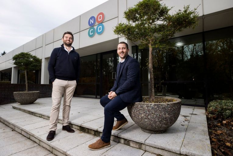 Frankie McSwiney and Brian Moran plan to create a network of offices on the fringes of the M50 motorway,