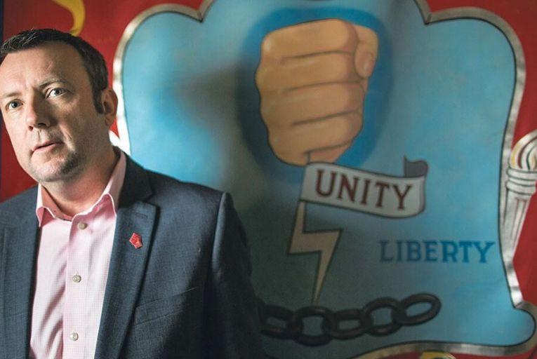 Citizen Ogle: Union boss Brendan Ogle on strikes, strife and homelessness