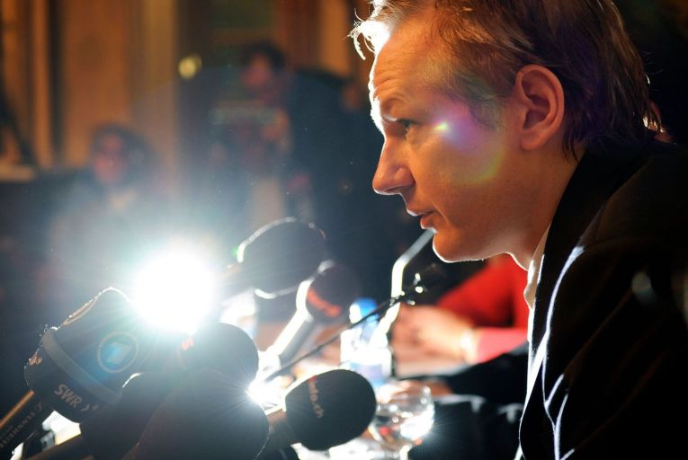 Julian Assange: those who champion press freedom should support the Wikileaks founder (Pic: Getty)
