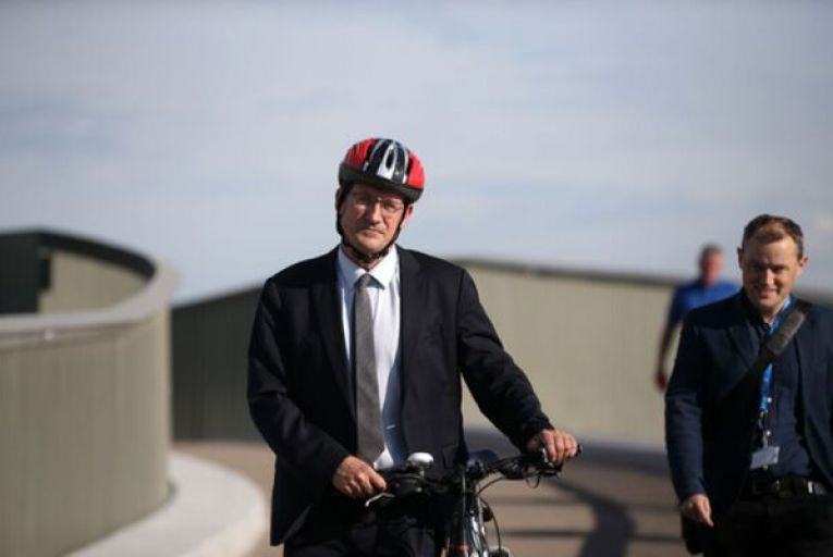 Eamon Ryan, the Minister for Transport, recently announced €4.5 million to carry out feasibility studies and planning on 26 greenway projects around the country. Picture: Sam Boal/Rollingnews.ie